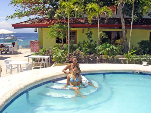 cabana swimming pool moalboal cebu